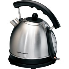 Hamilton Beach - 10-Cup Electric Kettle - Stainless-Steel