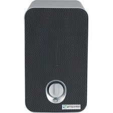 Germ Guardian - 3-in-1 Tabletop UV-C Air Purifier - White/Black